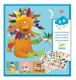 Create Animals Sticker Collage Activity