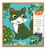 Country Creatures Scratch Card Activity Set