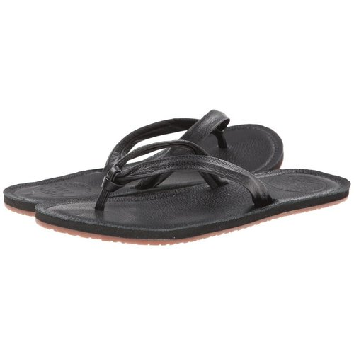 REEF CREAMY LEATHER SANDALS