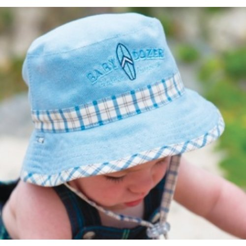 DOZER CHECK BUCKET HAT