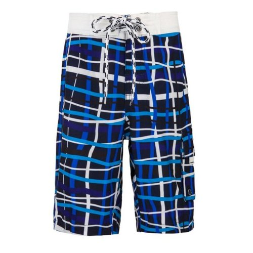 SNAPPER ROCK MOD PLAID BOARDSHORTS