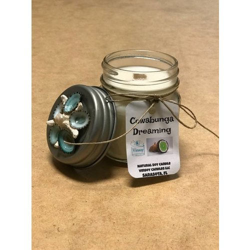 VINSOY CANDLES COWABUNGA DREAMING CANDLE