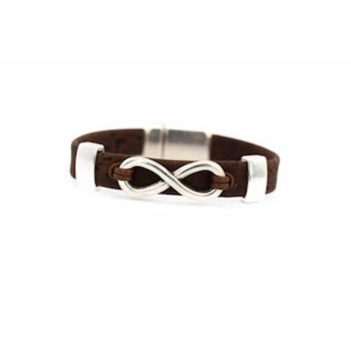 CORK TREE DESIGNS CORK INFINITY BRACELET