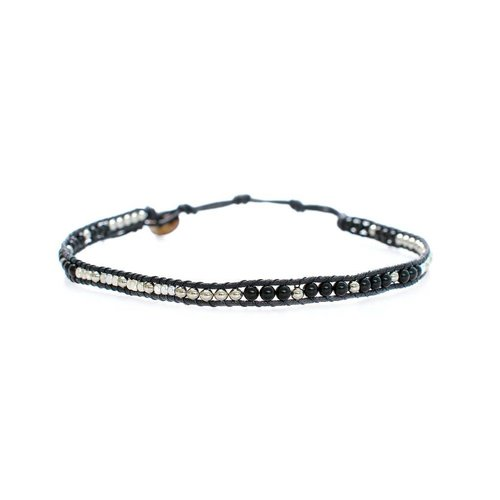LOTUS AND LUNA BEADED CHOKER / BRACELET