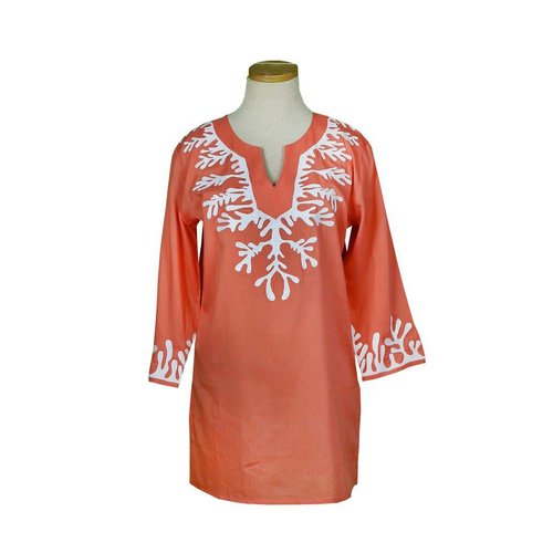 KIKI SOL EMBROIDERED TUNIC