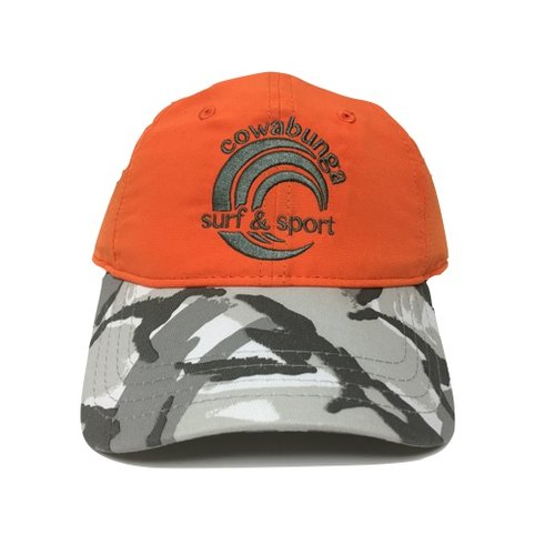 COWABUNGA NYLON HAT, ORANGE