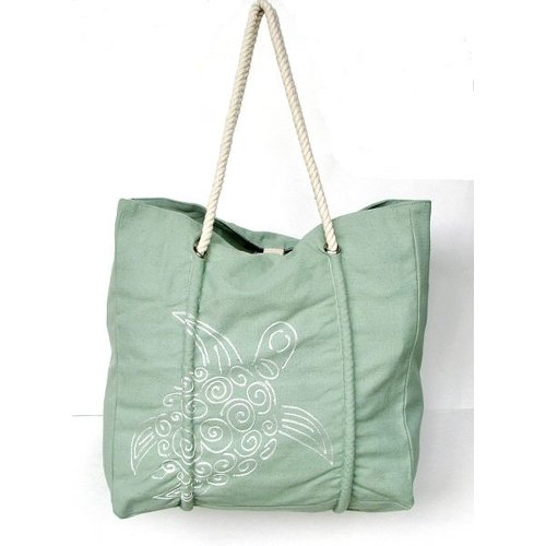 PINE CREEK TURTLE TOTE BAG