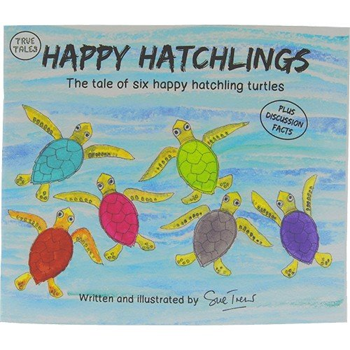 TOTALLY TURTLES USA HAPPY HATCHLINGS CHILDREN'S BOOK