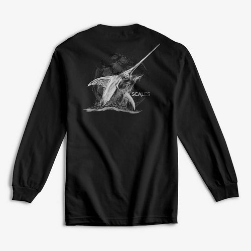 SCALES MOONLIT SWORD L/S TEE