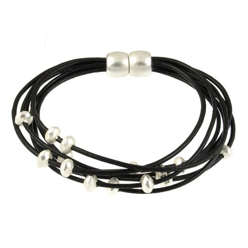 ORIGIN JEWELRY BRACELET WITH FACETED BEADS