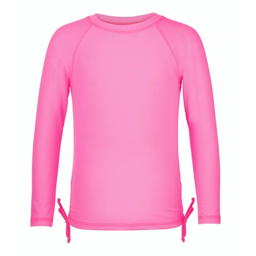 SNAPPER ROCK GIRLS PINK RASH TOP