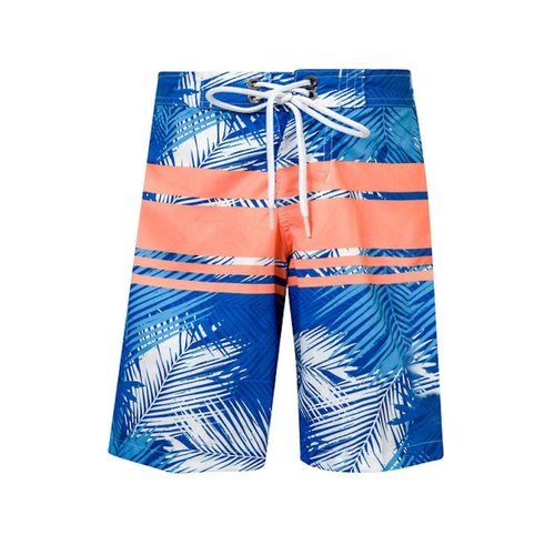 SNAPPER ROCK TROPICAL STRIPE BOARDSHORTS