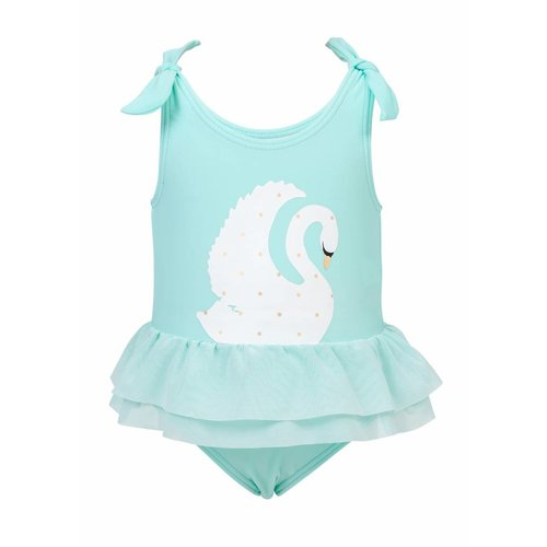 SNAPPER ROCK SWAN TULLE SWIMSUIT