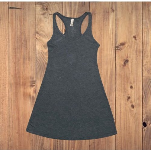TRIBLEND RACERBACK TANK DRESS