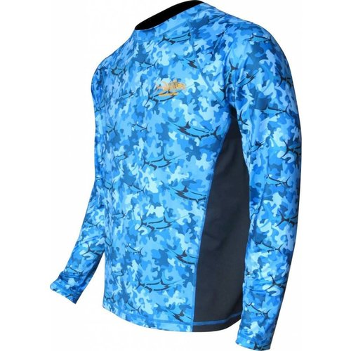 TORMENTER MARLIN CAMO PERFORMANCE SHIRT