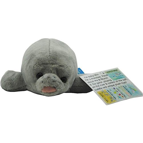 TOTALLY TURTLES USA MINI THE GREY MANATEE PLUSH TOY
