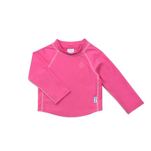 IPLAY L/S RASHGUARD SHIRT, HOT PINK