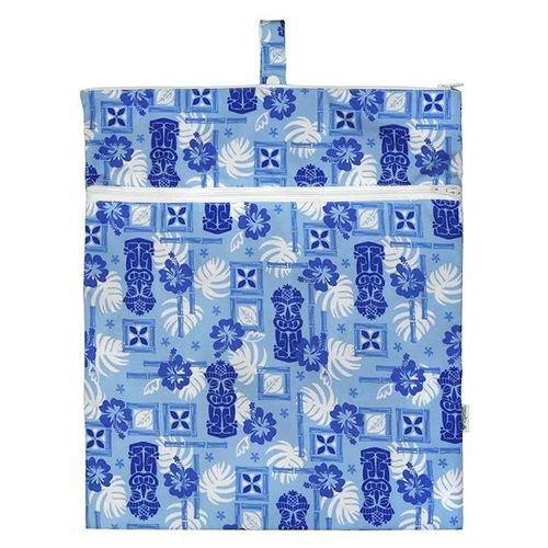 IPLAY WATERPROOF WET BAG, LT BLUE TIKI
