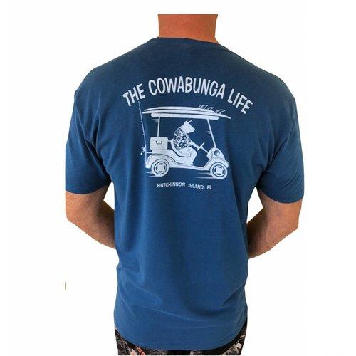COWABUNGA LIFE GOLF TEE, COOL BLUE