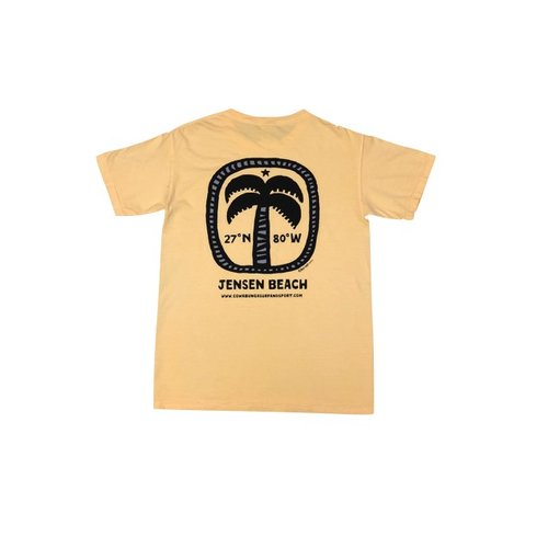 BIG HED PALM ROPE S/S TEE