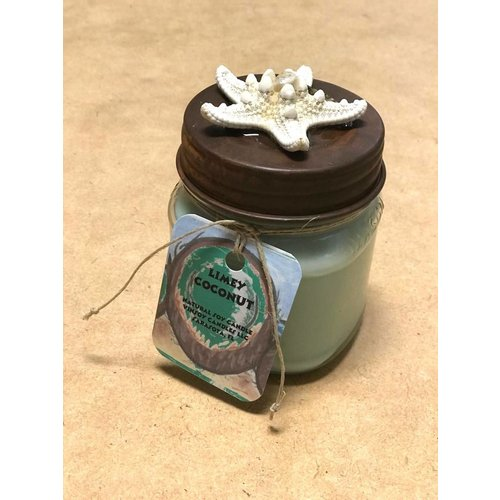 VINSOY CANDLES LIMEY COCONUT HANDMADE CANDLE