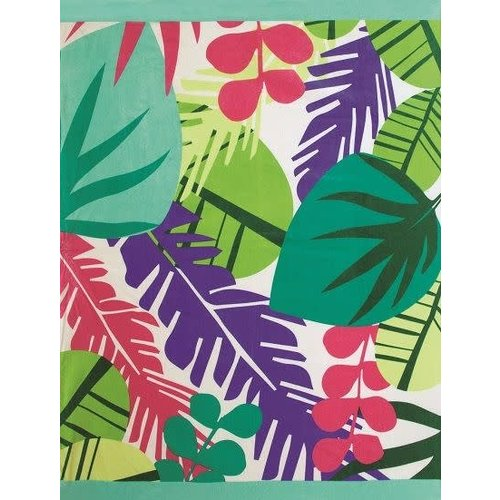 TROPICAL TOWEL FOR TWO