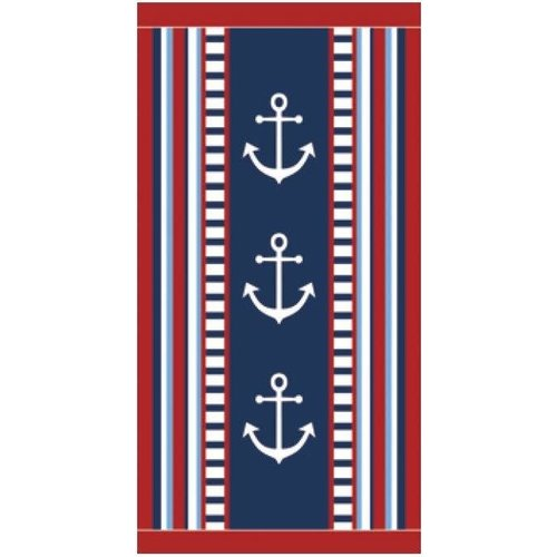 ANCHORS PREMIUM VELOUR TOWEL
