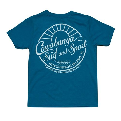 COWABUNGA SEASIDE YOUTH TEE