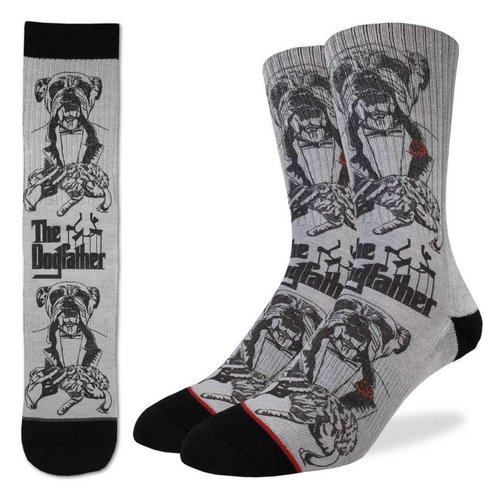GOOD LUCK SOCK THE DOGFATHER MENS SOCKS