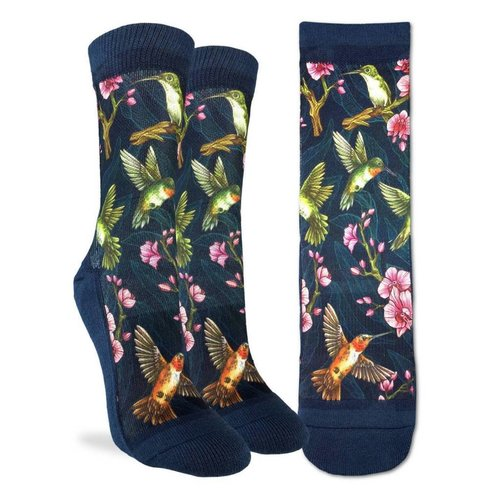GOOD LUCK SOCK HUMMINGBIRD WOMENS SOCKS