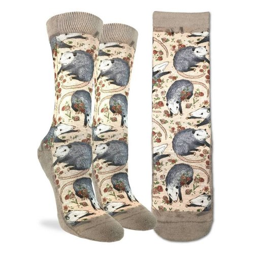 GOOD LUCK SOCK OPOSSUM WOMENS SOCKS