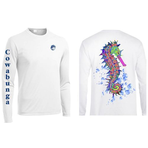 REEFERS SEAHORSE PERFORMANCE SHIRT