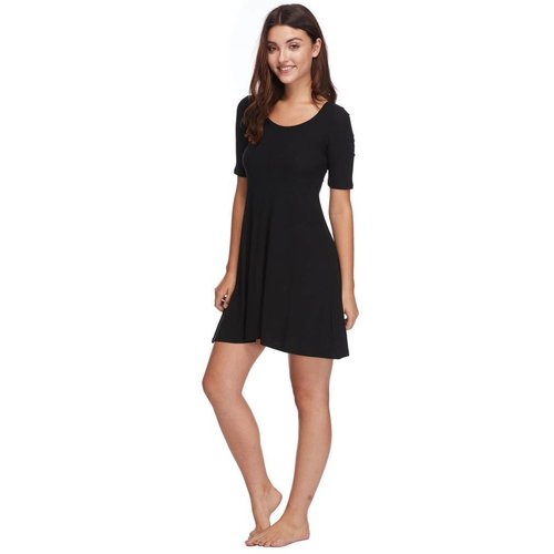 BODY GLOVE WOMENS MARCELLA RIBBED KNIT DRESS