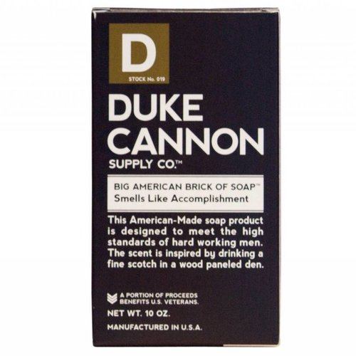 DUKE CANNON BIG AMERICAN ACCOMPLISHMENT SOAP