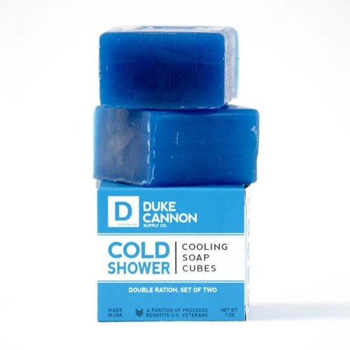 DUKE CANNON COLD SHOWER SOAP CUBES