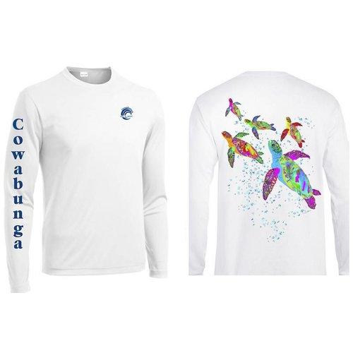 REEFERS TURTLE FAMILY PERFORMANCE SHIRT