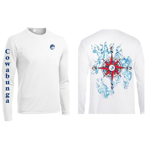 REEFERS COMPASS ROSE PERFORMANCE SHIRT