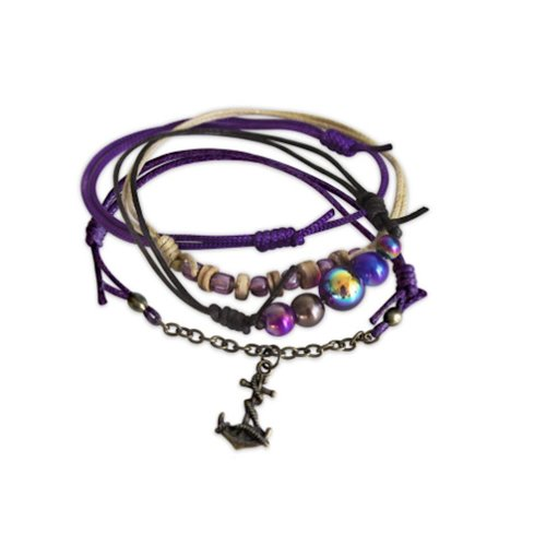 O YEAH GIFTS ANCHOR BEACH LIFE BRACELET
