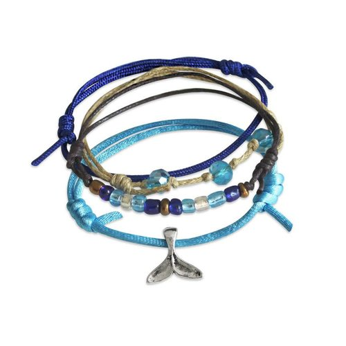 O YEAH GIFTS WHALE TAIL BEACH LIFE BRACELET