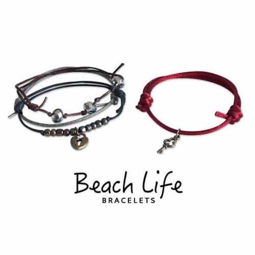O YEAH GIFTS LOCK & KEY BEACH LIFE BRACELET