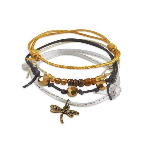 O YEAH GIFTS DRAGONFLY BEACH LIFE BRACELET