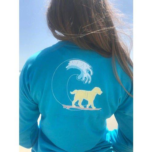 BUDDY BY THE SEA MAUI BLUE YOUTH JERSEY