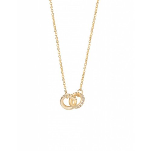"SPARTINA 449 ""UNBREAKABLE"" DOUBLE RING NECKLACE"