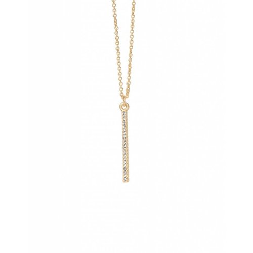 "SPARTINA 449 ""UNSTOPPABLE"" VERTICAL BAR NECKLACE"