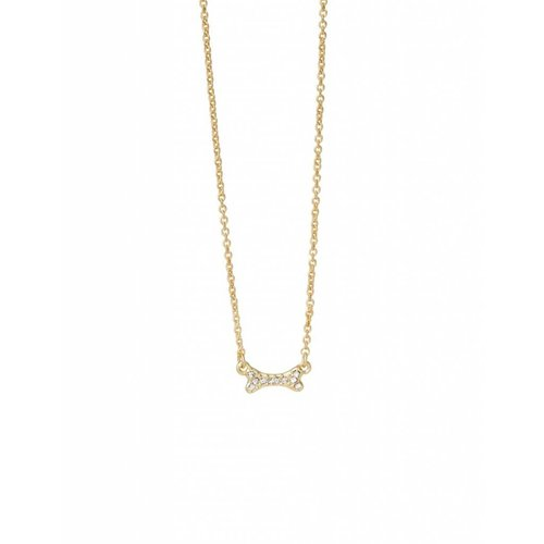 "SPARTINA 449 ""PUPPY LOVE"" BONE NECKLACE"