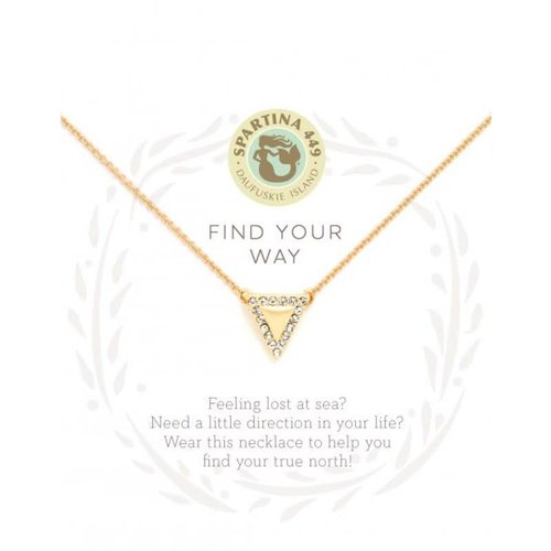 "SPARTINA 449 ""FIND YOUR WAY"" NECKLACE"