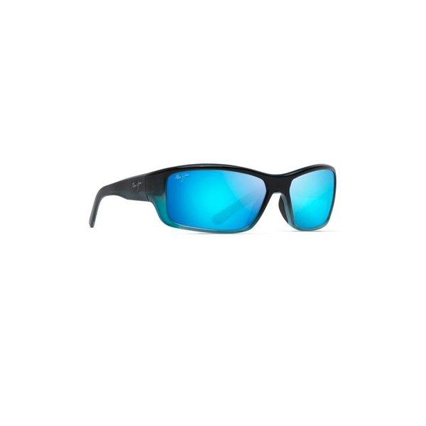 BARRIER REEF SUNGLASSES, BLUE W/ TURQUOISE / BLUE HAWAII