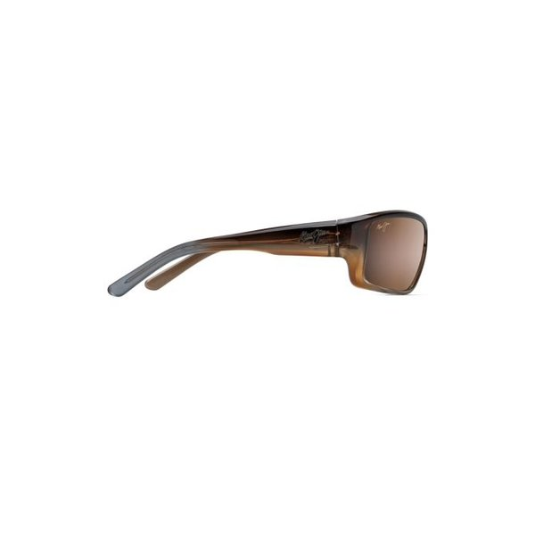BARRIER REEF SUNGLASSES, BROWN W/ GOLD / HCL BRONZE