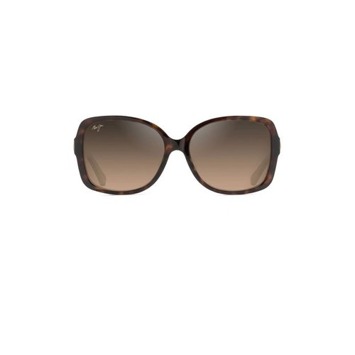 MAUI JIM MELIKA SUNGLASSES, DARK TORT