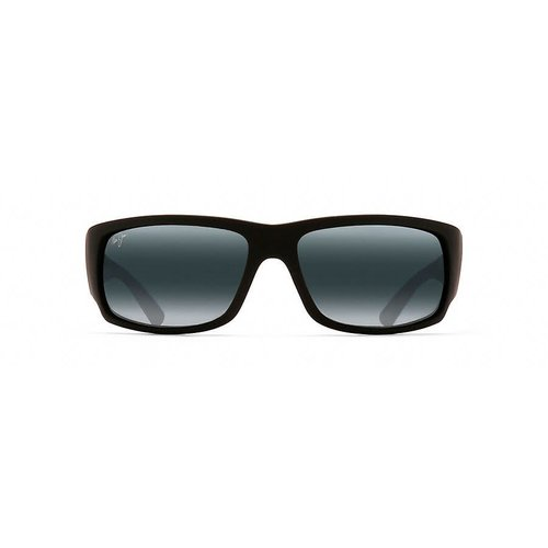 MAUI JIM WORLD CUP SUNGLASSES, BLACK RUBBER